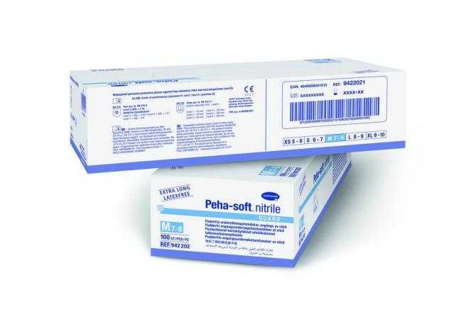 Hartmann puderfreie Schutzhandschuhe Peha-soft® nitrile guard