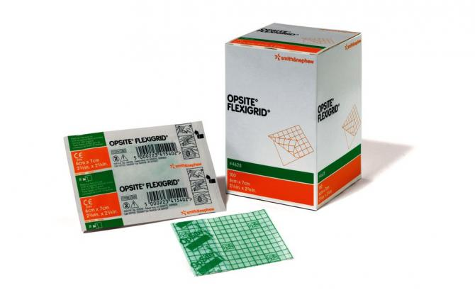 Smith&Nephew Folienverband OpSite® Flexigrid, steril
