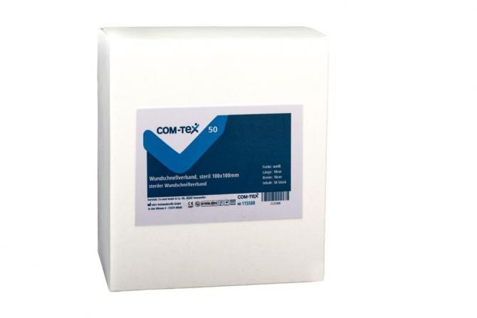 COM-TeX® steriler Wundschnellverband PLAST STERIL