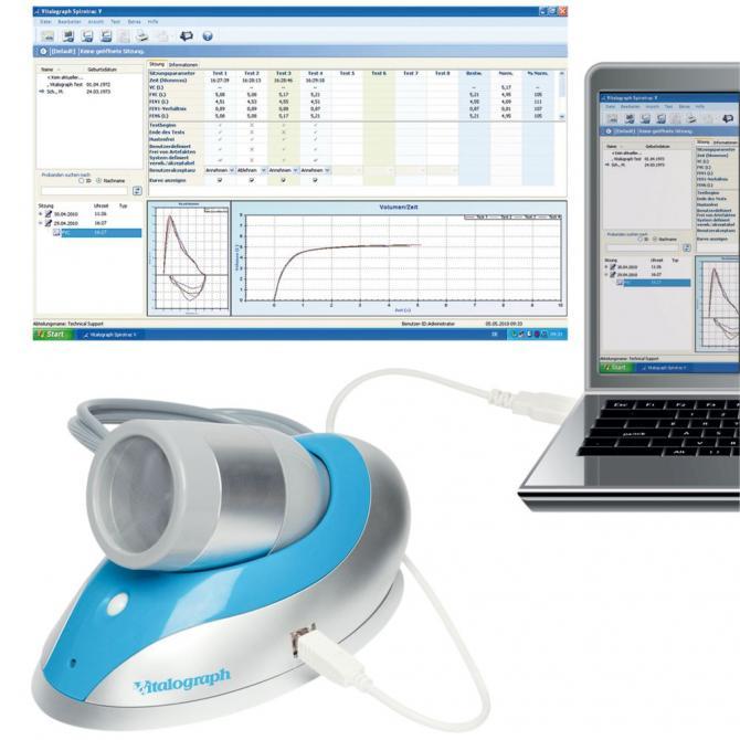 Vitalograph Pneumotrac-USB™ Spirometer