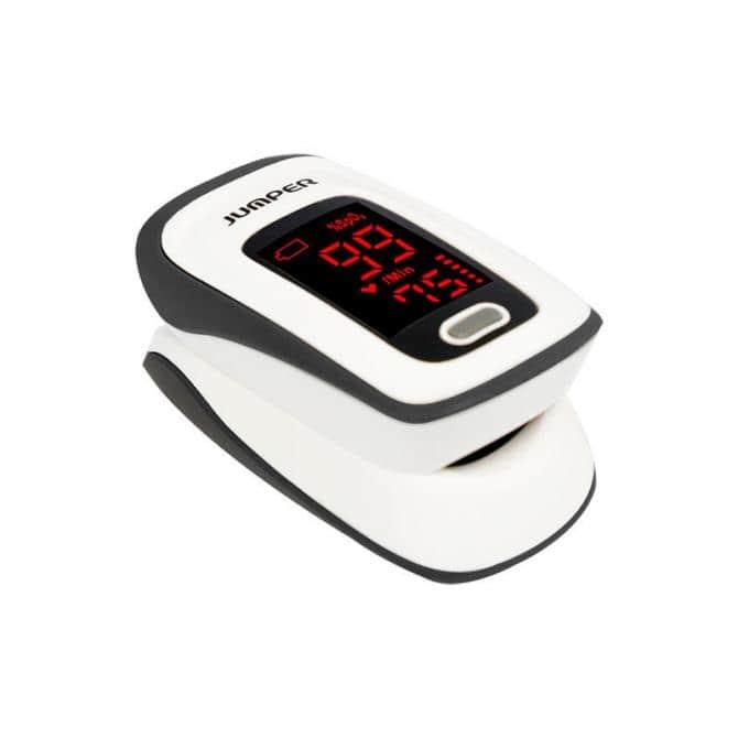 Fingerpulsoximeter Jumper JPD-500E HD-LED-Display inkl.Aufbewahrungstasche