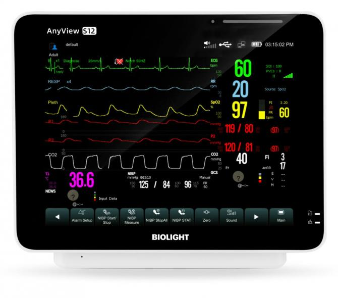 medical econet Überwachungsmonitor