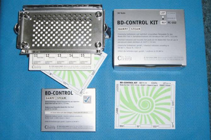 BD-Control Bowie-Dick-Test