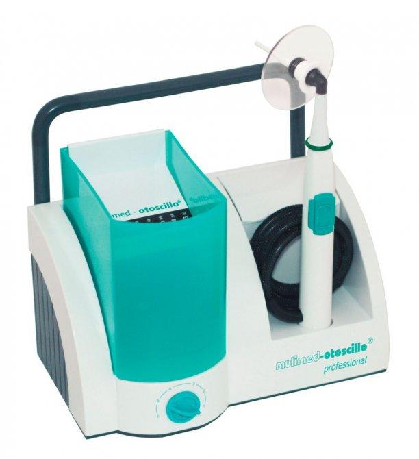 mulimed-otoscillo® professional Ohrspülgerät