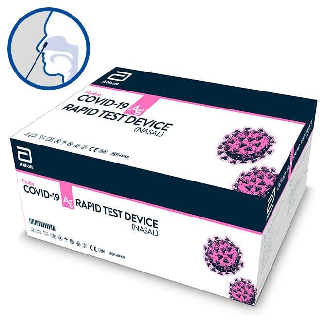 Abbott Panbio™ COVID-19 Ag Schnelltest - für den vorderen Nasenbereich