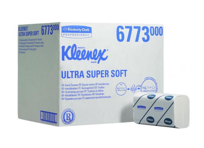Kimberly Clark KLEENEX® Ultra-Super-Soft Handtücher - Interfold