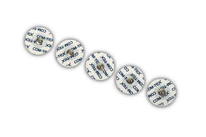 COM-TeX® Einweg-Schaumstoffelektroden mit Druckknopfanschluss