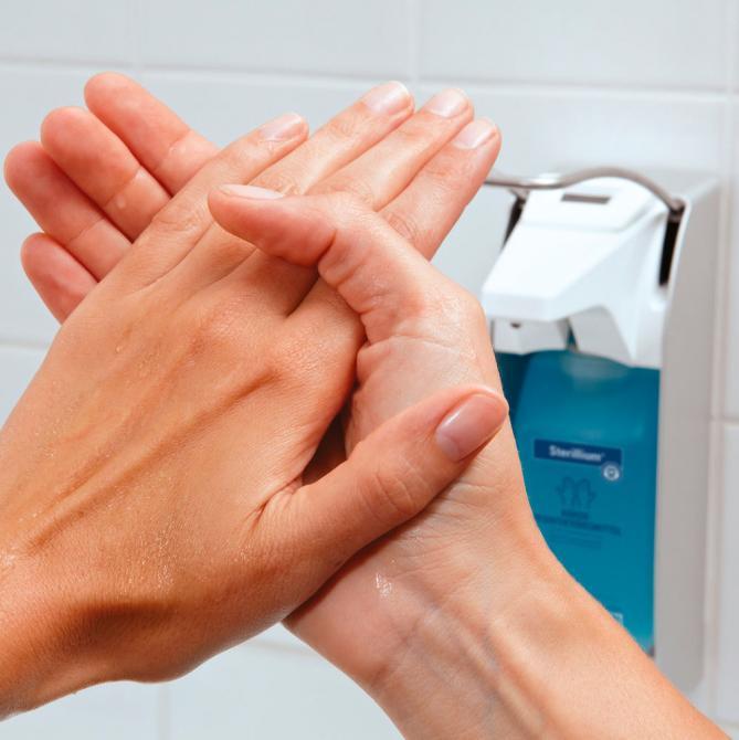 BODE Händedesinfektion Sterillium®