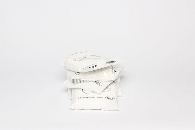 Atemschutzmaske FFP2 ohne Ventil 6 x 5 Stück