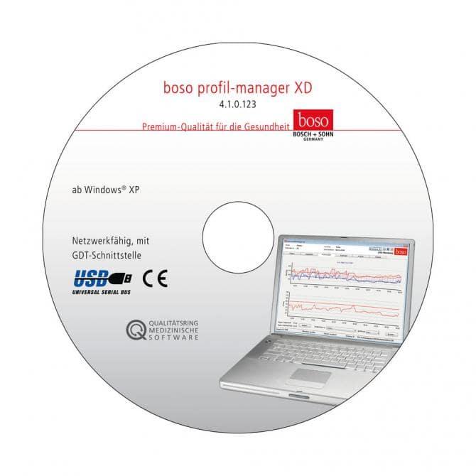 Profil-Manager XD für boso TM-2430 und  ABI-system 100